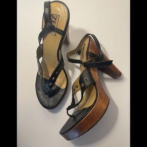 Vintage sandal clogs